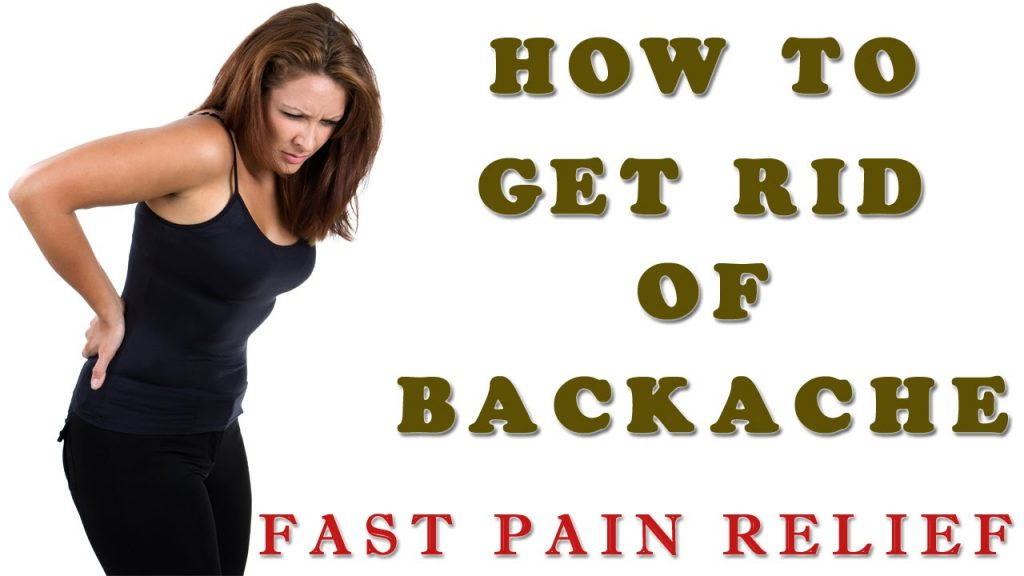 How to Reduce Back Pain Fast