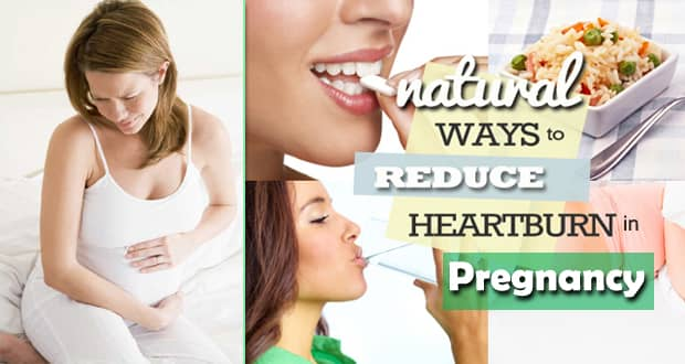 How to Reduce Heartburn During Pregnancy Fast