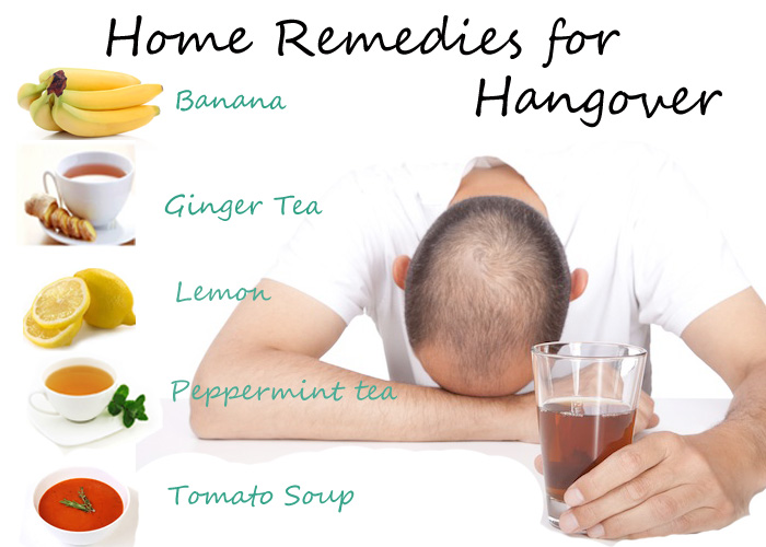Home Remedies to Reduce Hangover