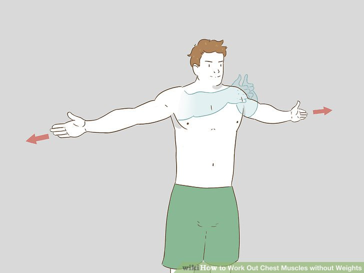 Chest Fat Burning Exercises without Equipment