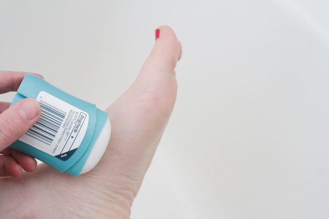 Method To Stop Sweating Feet